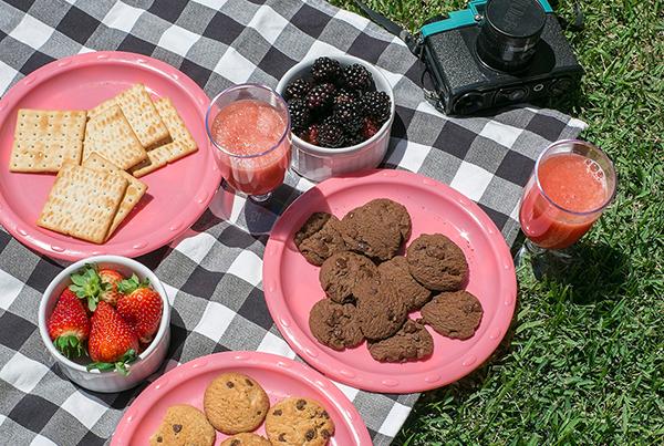 Produção de fotos de biscoitos para mídias sociais