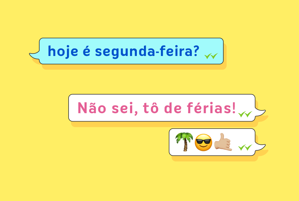 Facebook e stories de férias para Ludi
